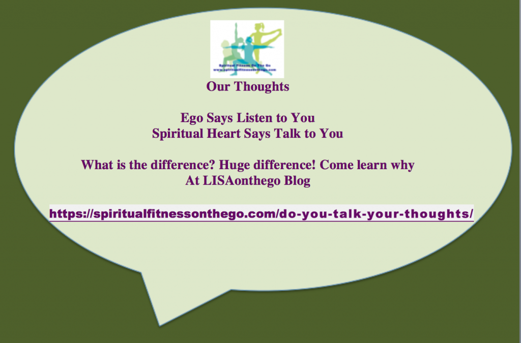Do you Talk or Listen to your Thoughts?