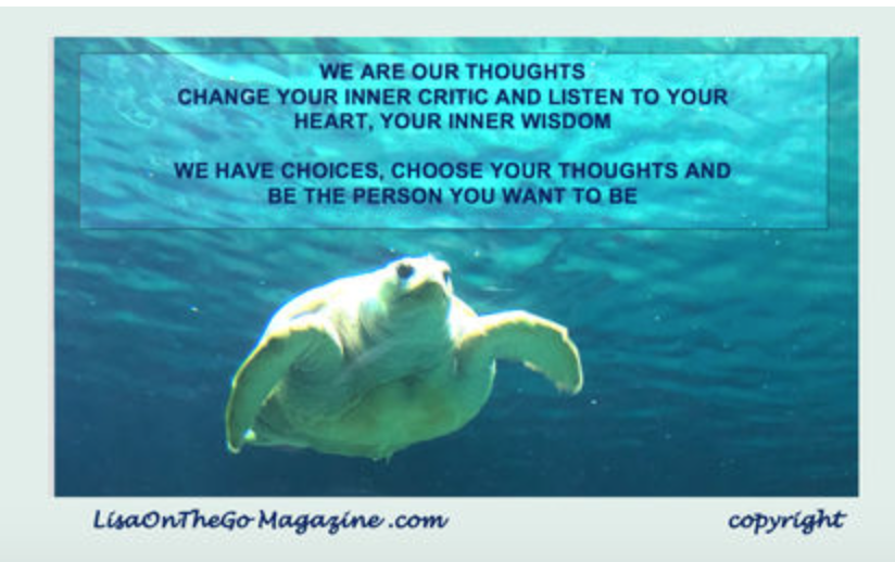 We Are Our Thoughts, LisaOnTheGoMagazine
